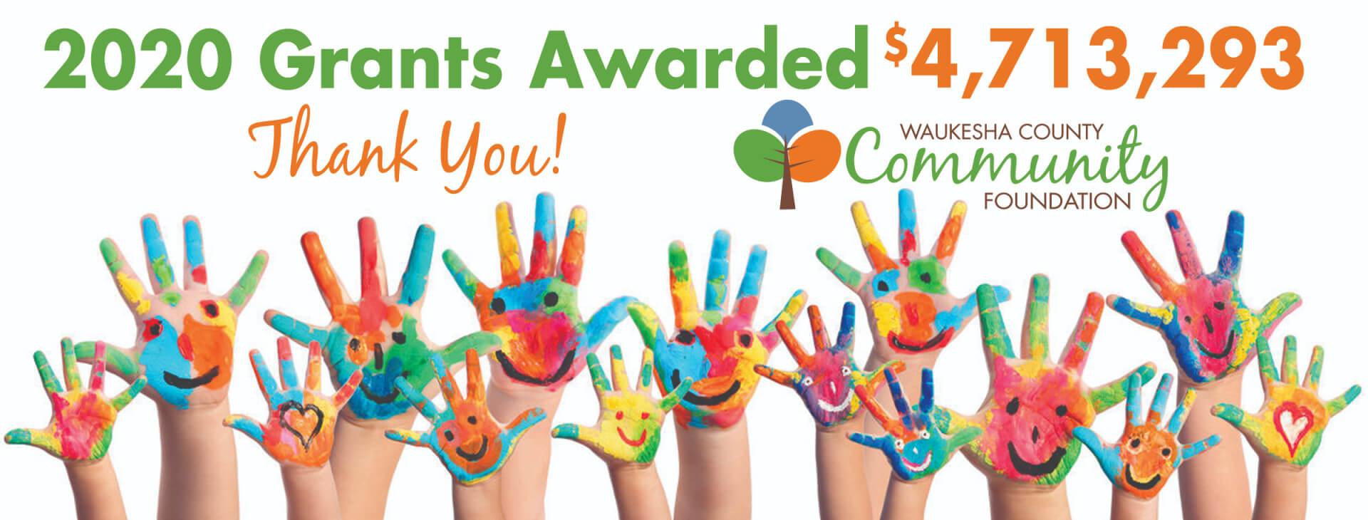 2020 Grants Awarded banner