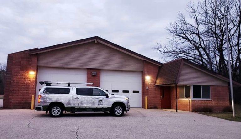 Wisconsin Hero Outdoors' new garage