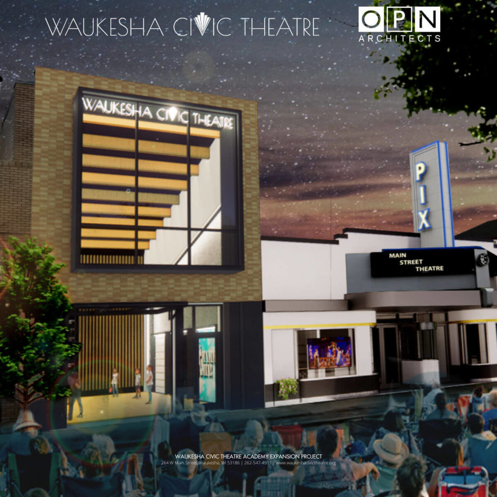 Waukesha Civic Theatre rendering