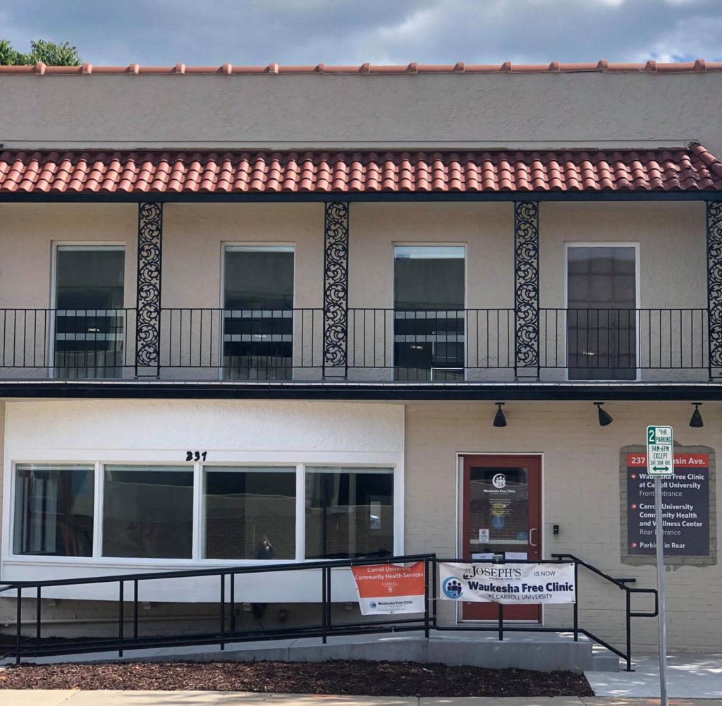 Waukesha Free Clinic - exterior